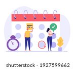 planning schedule  business...   Shutterstock .eps vector #1927599662