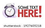 time promotion information ...   Shutterstock .eps vector #1927605218