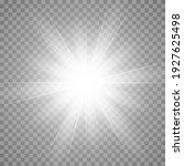 vector glow light effect. star...