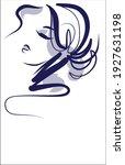 vector handmade fashion digital ... | Shutterstock .eps vector #1927631198