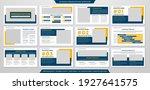 multipurpose presentation...   Shutterstock .eps vector #1927641575