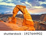 Delicate Arch At Sunset  Arches ...