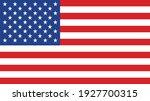 united states flag vector... | Shutterstock .eps vector #1927700315