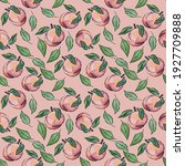 A Colorless Pattern Of Peaches...