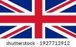 british flag  united kingdom... | Shutterstock .eps vector #1927712912