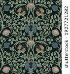 floral vintage seamless pattern ... | Shutterstock .eps vector #1927721282