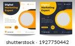 digital marketing social media... | Shutterstock .eps vector #1927750442