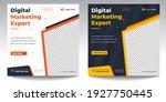 digital marketing social media... | Shutterstock .eps vector #1927750445