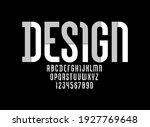 constructive original font ... | Shutterstock .eps vector #1927769648