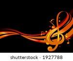 stylish illustration of music... | Shutterstock .eps vector #1927788