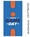 game day. basketball playoff in ... | Shutterstock .eps vector #1927796705