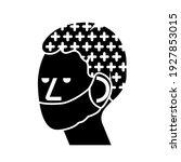 wear hair net and mask black...   Shutterstock .eps vector #1927853015