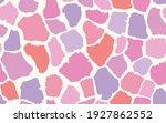 abstract modern giraffe... | Shutterstock .eps vector #1927862552