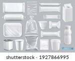 polyethylene and polystyrene... | Shutterstock .eps vector #1927866995