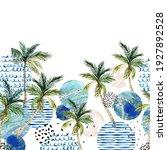 abstract summer art. art... | Shutterstock . vector #1927892528