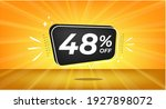48  off. yellow banner with... | Shutterstock .eps vector #1927898072