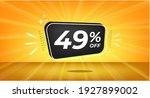 49  off. yellow banner with... | Shutterstock .eps vector #1927899002