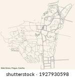 black simple detailed street... | Shutterstock .eps vector #1927930598