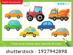 find and mark two identical... | Shutterstock .eps vector #1927942898