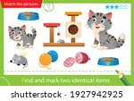 find and mark two identical... | Shutterstock .eps vector #1927942925