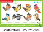 find and mark two identical... | Shutterstock .eps vector #1927942928