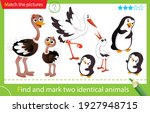 find and mark two identical... | Shutterstock .eps vector #1927948715