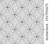 seamless black and white... | Shutterstock .eps vector #1927952675