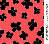 vector seamless  pattern simple ... | Shutterstock .eps vector #1927953425
