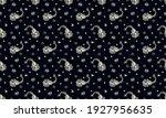 bandana print. vector seamless... | Shutterstock .eps vector #1927956635