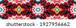 bandana print. vector seamless... | Shutterstock .eps vector #1927956662