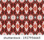 bandana print. vector seamless... | Shutterstock .eps vector #1927956665