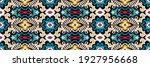 bandana print. vector seamless... | Shutterstock .eps vector #1927956668