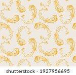 bandana print. vector seamless... | Shutterstock .eps vector #1927956695