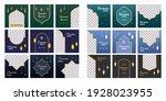 social media banners set for... | Shutterstock .eps vector #1928023955