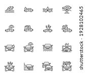 car insurance line icons set ...   Shutterstock .eps vector #1928102465