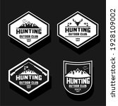 various vector and hill hunting ... | Shutterstock .eps vector #1928109002
