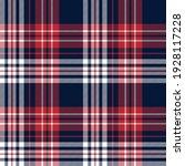 tartan plaid pattern texture in ... | Shutterstock .eps vector #1928117228