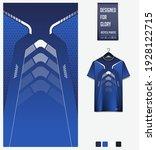 fabric textile design for sport ... | Shutterstock .eps vector #1928122715