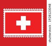 Flag Of The Switzerland On...