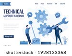 technical support and repair ...   Shutterstock .eps vector #1928133368