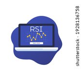 rsi indicator  relative... | Shutterstock .eps vector #1928136758