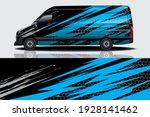 car wrap graphic racing... | Shutterstock .eps vector #1928141462