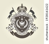 royal coat of arms template ... | Shutterstock .eps vector #1928161622
