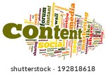 Content And Social Media...
