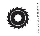 circular saw icon design... | Shutterstock .eps vector #1928192615