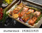 Baked Salmon With Rosemary ...