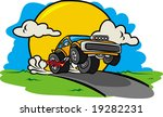 funny car | Shutterstock .eps vector #19282231