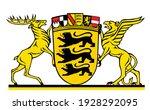 german territory symbol  great ... | Shutterstock .eps vector #1928292095