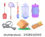wild animals and insects traps... | Shutterstock .eps vector #1928310545