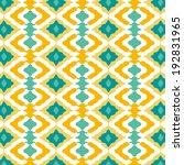 ethnic pattern | Shutterstock .eps vector #192831965